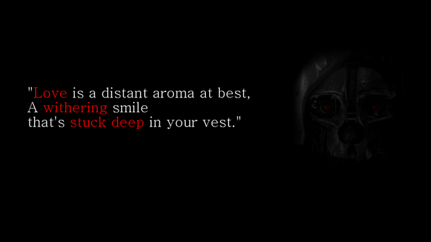 Dishonored Wallpaper by lastkill3r