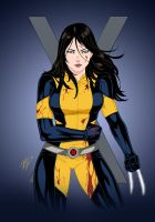 X-23, The Wolverine by Dannith by edCOM02
