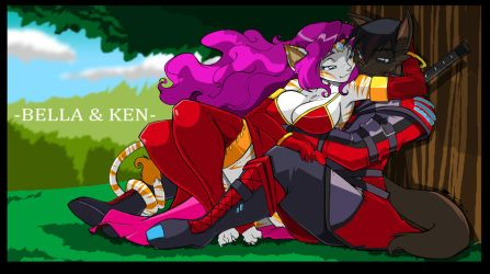 Chris T. Comm: Bella and Ken by ShoNuff44