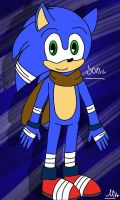 Sonic(Redesing) by MelTheArtist