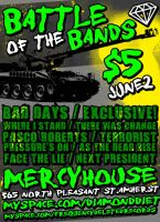 Battle of the Bands - June 2nd by Solitarius-Advena