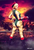 Cammy 'Street Fighter' Cosplay by dennybusyet