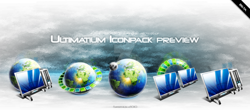 Ultimatium iconpack preview by Siristhius
