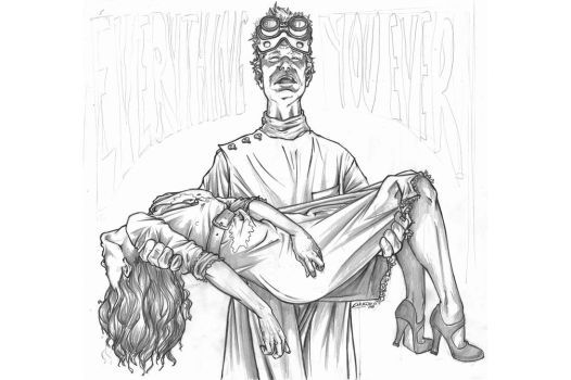Dr Horrible's pencils by TheComicFan