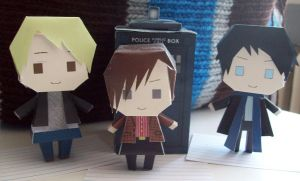 BBC Sherlock + Doctor Who X-Over by Rabenstolz