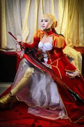 Saber Nero by BlackMageAlodia