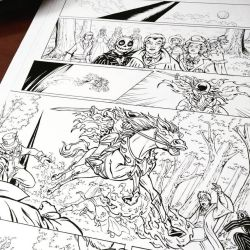 Puck 2 - page 6 inks wip by giulal