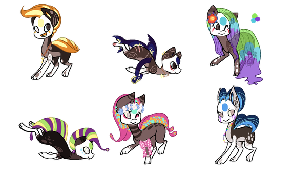 Finnedyr Adopts (24) -closed- by HitMeWithBrokenLeave