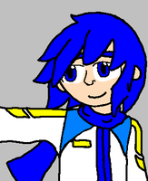 small Kaito doodle by mitchika2