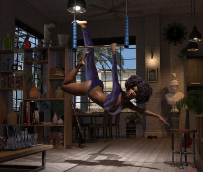 The Swing by Hera-of-Stockholm