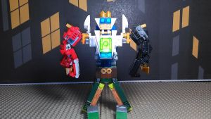 Enchanted Legends Megazord by sideshowOfMadness