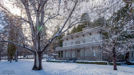 Bowers in Winter by sintar