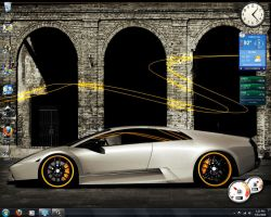 My First Windows 7 Desktop by bmgreatness