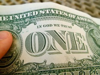 In The One God We Trust by Jessica-is-here
