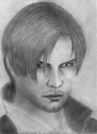 Leon Scott Kennedy from Resident Evil by JayGranayde