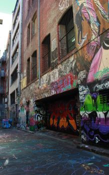 Graffiti Alley by Digimaree