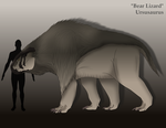 Species Concept: Bear Lizard by amplifang765