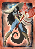 Marceline the Vampire Queen by TreyBarksArt