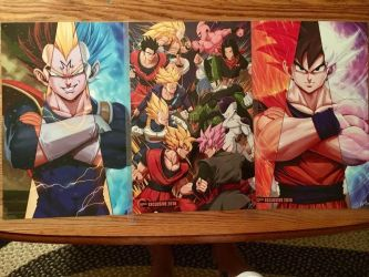 all three kameha con posters by thatguy4802