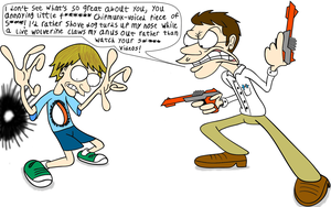 AVGN vs. Fred by maniacaldude