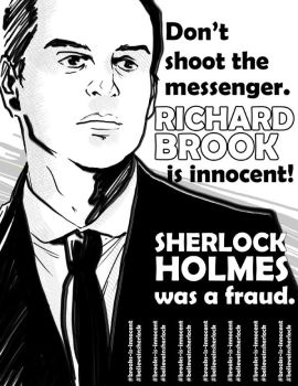 BBC Sherlock: Richard Brook is Innocent by Buckle