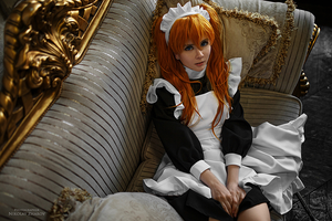 Asuka maid. Alternative home XI by TaisiaFlyagina