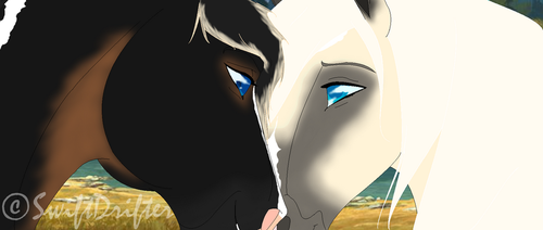 I have loved you for a thousand years~ Zavie by SwiftDrifter