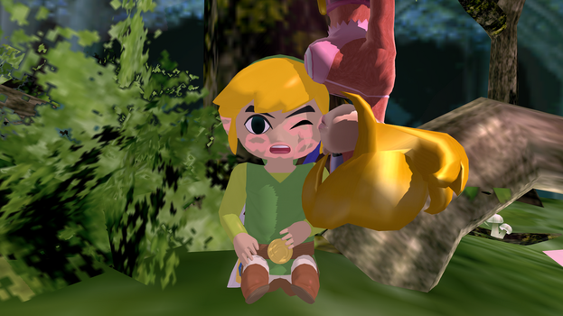 [MMD] Surprise in the Outset Forest by jasminabubuladdin