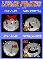 Lunar phases by MasterLudus