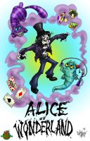 Alice In Wonderland by OuthouseCartoons