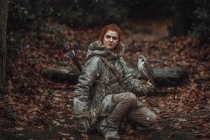 the redheaded Wildling by MsSkunk