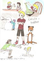 Calvin and Hobbes by Beautiful-Tears-Fall