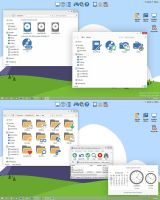 Pure Flat 2014 IconPack Installer by alexgal23