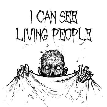 I CAN SEE LIVING PEOPLE by Aeyolscaer