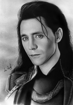 Loki of Asgard by anokaxlegolas