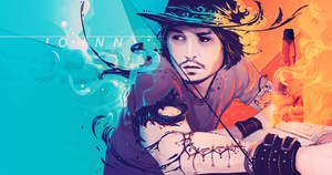 Johnny Depp Gets Vectord by Ryannzha