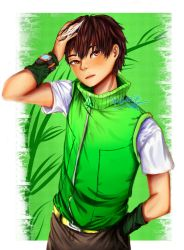 Boboiboy Daun (badass version) by Kirata28