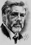 Christoph Waltz by Mohamed Ziou by MoZiou