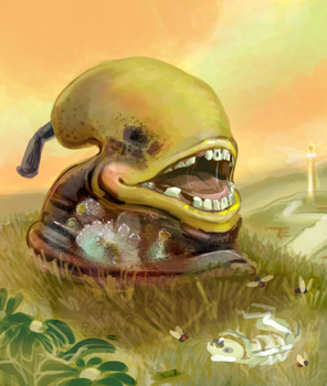 The Rotting Pear of Interweb by Reptonic