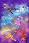 Glitter Cosmos Group by Taiya001
