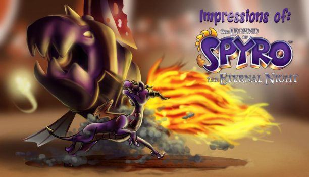 Impressions of Spyro: The Eternal Night by StewCat52