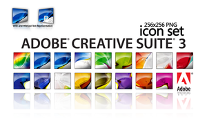 Adobe CS3 Icon Suite by wstaylor