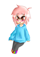 Chibi Basic Color Example (Point Commissions Open) by shotabunnyfairy