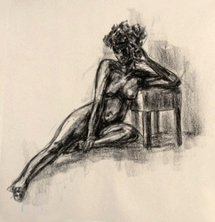 10 min figure drawing by CalmingSoul