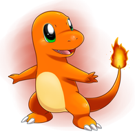 It's a Charmander! by Nintendrawer