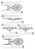 Star Trek Sovereign Class CS3 by xxxNitewingxxx