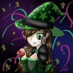 Comic as a Witch by comicisawesome