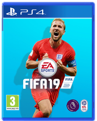 Harry Kane FIFA 19 Cover by TheCoverUploader