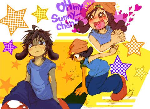 Parappa Human Style by sanada-number09