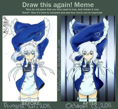 Meme: Before and After - Echo by AlehwithH